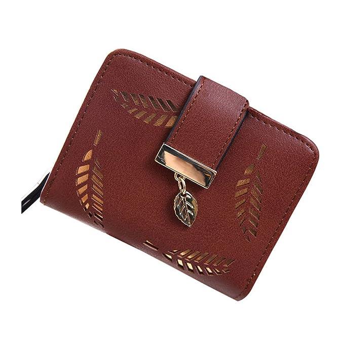 Amazon.com: Sonder Womens coin purses holders wallet short carteras ApricotOne Size: Shoes