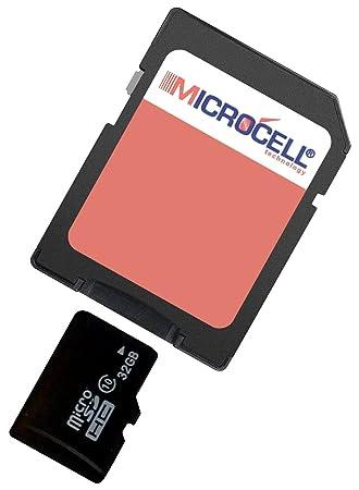 Microcell - Tarjeta de memoria Micro SD de 32GB / 32 GB con ...
