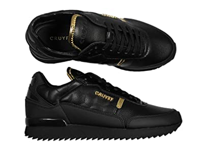aa9cff4e6f0 Cruyff New Men's Ripple Runner Trainers in Black Gold Colour: Amazon.co.uk:  Shoes & Bags
