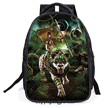 787b2f137696 Amazon.com | Backpack, L11.8xW6.3xH15.7inch, Graphics of Fantasy ...