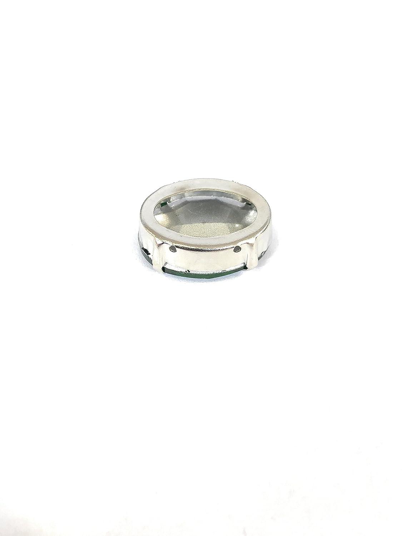 3 Piezas mm 10x14 + 3 Piezas mm 18x13 + 3 Piezas mm 25x18 5.ZERO Piedras de Coser de 9 Piezas con Metal en Cristal de Color Light Colorado Topaz
