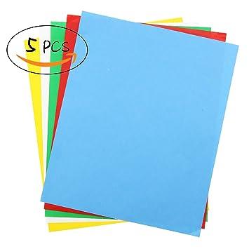 5 PCS Transfer Papier, Carbon wasserlöslich Transparentpapier 27,9 ...