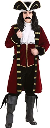 Fun Costumes – Disfraz de capitán garfio: Amazon.es: Juguetes y ...