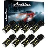 3157 3156 3057 3157A 4057 4157 LED Bulb White, Antline Super Bright 1200 Lumens 24-SMD LED Replacement Lamp for Car…