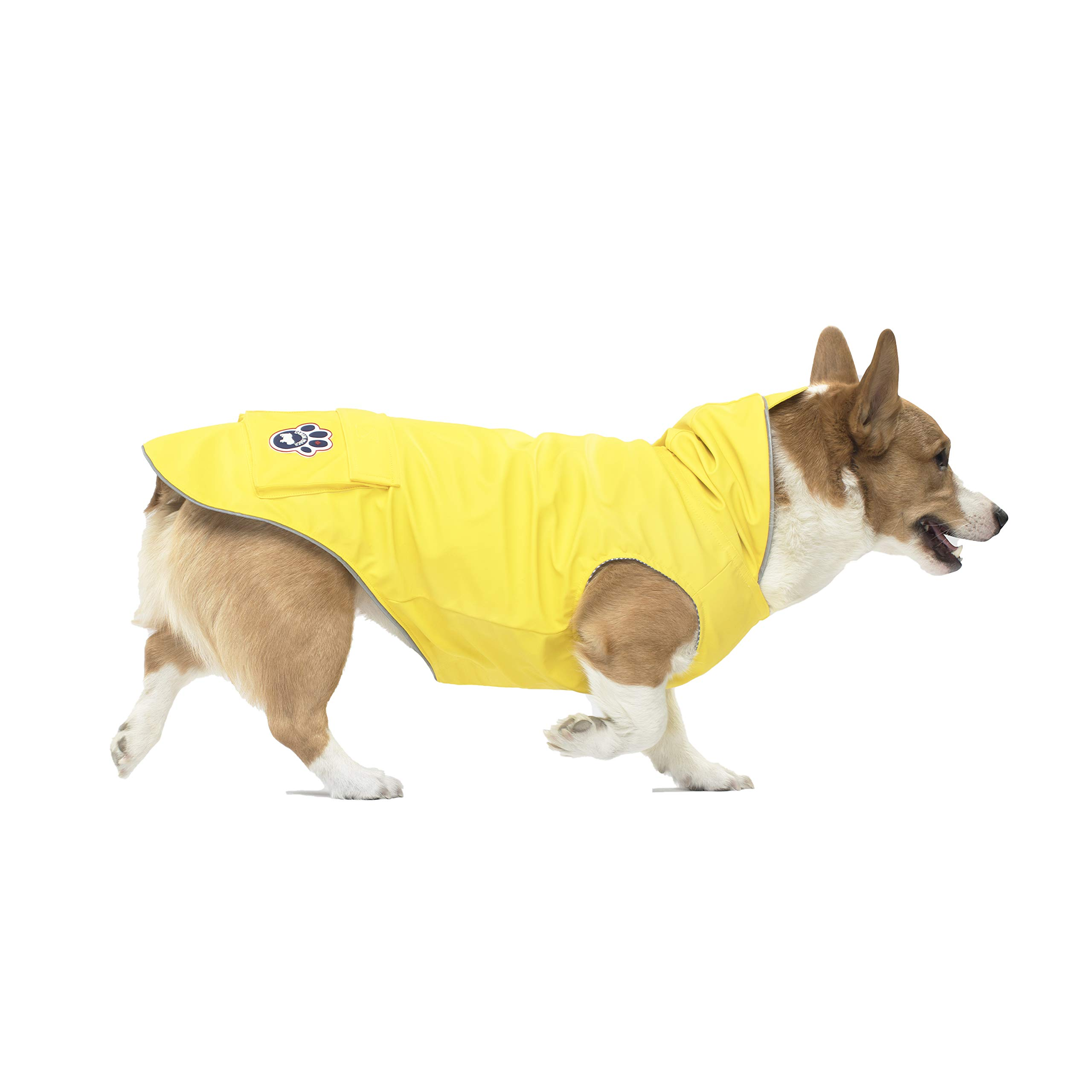 Canada Pooch Torrential Tracker, Yellow, Size 20