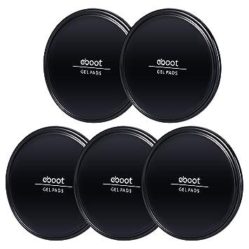 Almohadillas Antideslizantes de Gel Negras Almohadillas Adhesivas de Móviles Alfombrillas Antideslizantes de Coche para Móviles,