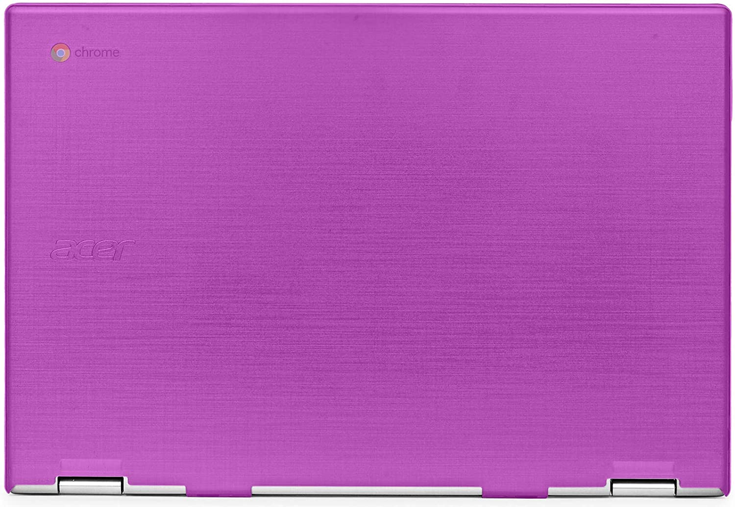 "mCover Hard Shell Case for 2019 15.6"" Acer Chromebook 15 CB315 Series (NOT Compatible with Older Acer chromebook C910 / CB5-971 / CB3-531 / CB515, etc) Laptop Computer (AC15-CB315-Purple)"
