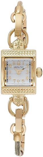 premium selection a36ba fc7d9 [ハミルトン]HAMILTON 腕時計 正規保証 amilton Vintage (レディ ハミルトン ヴィンテージ) イエローゴールド  H31231113 レディース 【正規輸入品】