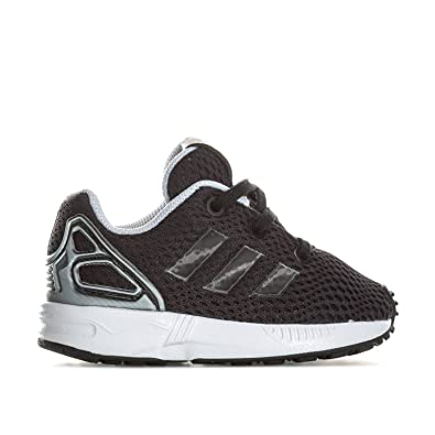 74e5c893b5 adidas Boys Originals Infant Boys ZX Flux Lenticular Trainers in Black - 9  Infant
