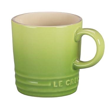 Le Creuset Stoneware Petite Espresso Mug, 3.5-Ounce, Palm