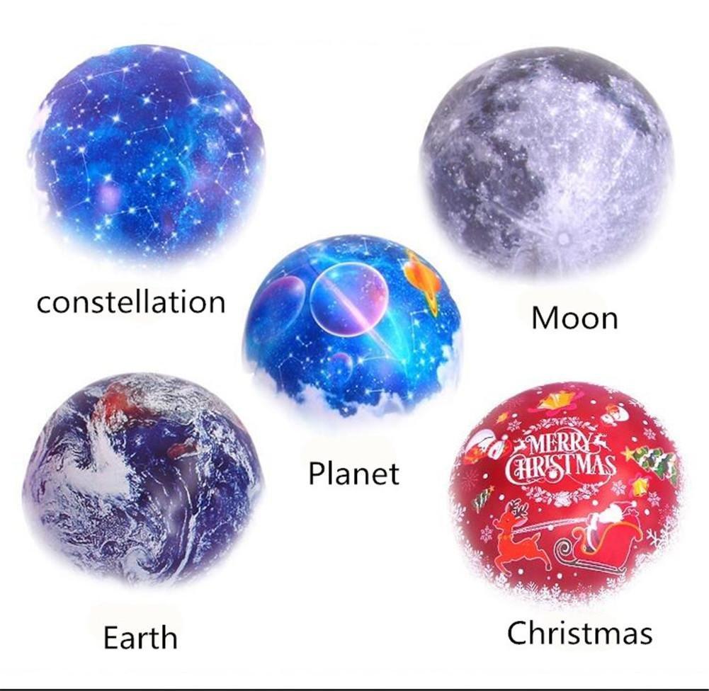 Meteor Garden Luces Del Proyector Universo Luz De La Estrella ...