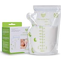 Breastmilk Storage Bags 110 Count 8 OZ 250ML Pre-Sterilized Milk Freezer Bags for Breastfeeding Milk Storage Bag Leak…