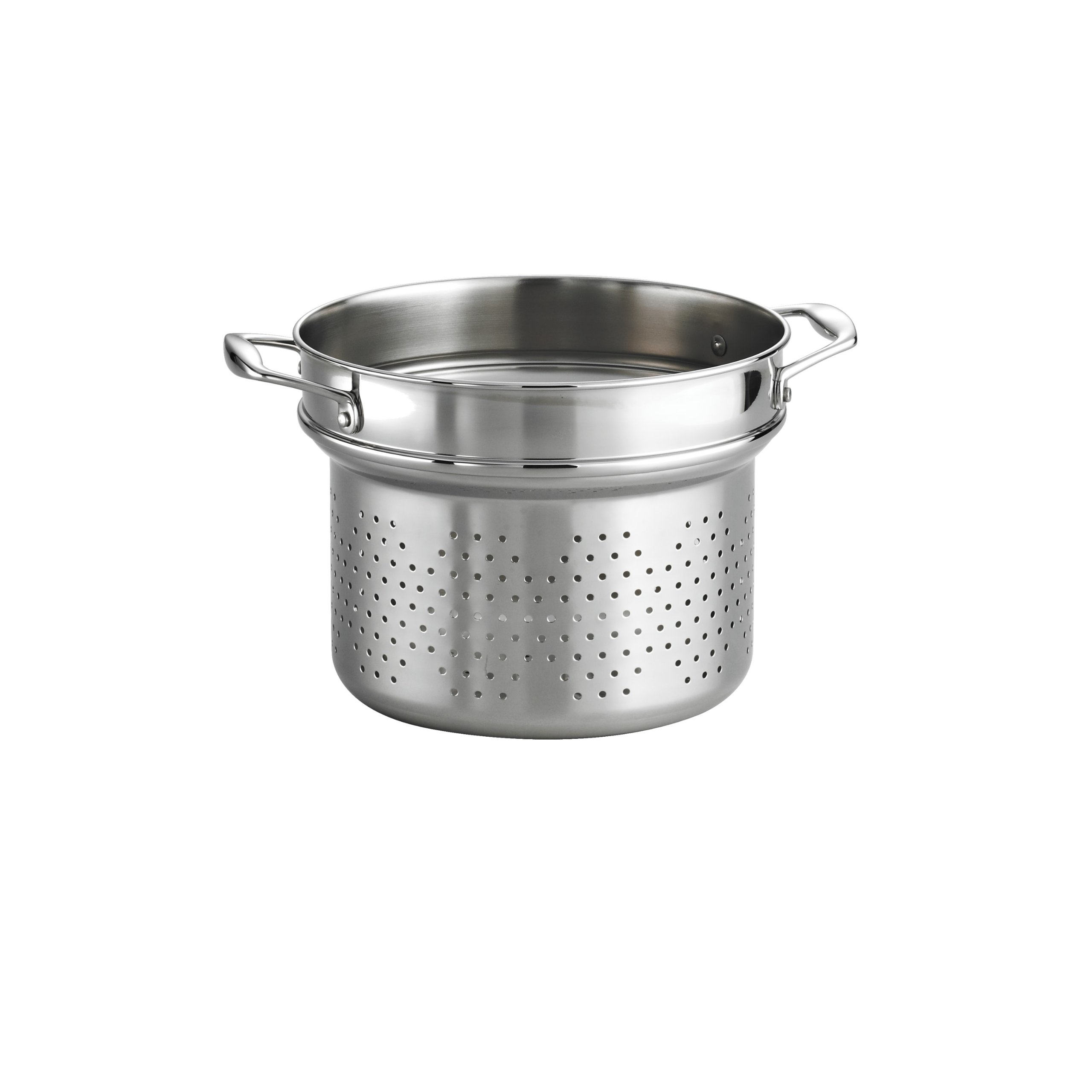 Tramontina 80116/034DS Gourmet Premium 18/10 Stainless Steel Tri-Ply Clad Pasta Insert (Fits 8-Qt)