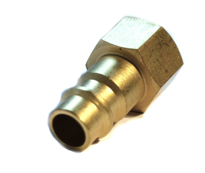 1//2 DRUCKLUFT Druckluftkupplung male m/ännlich Anschluss Kupplung Innengewinde Schnellkupplung Stecknippel NW7,2