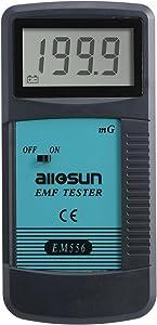 ALLOSUN EM556 Digital EMF Meter Electromagnetic Radiation Detector Dosimeter