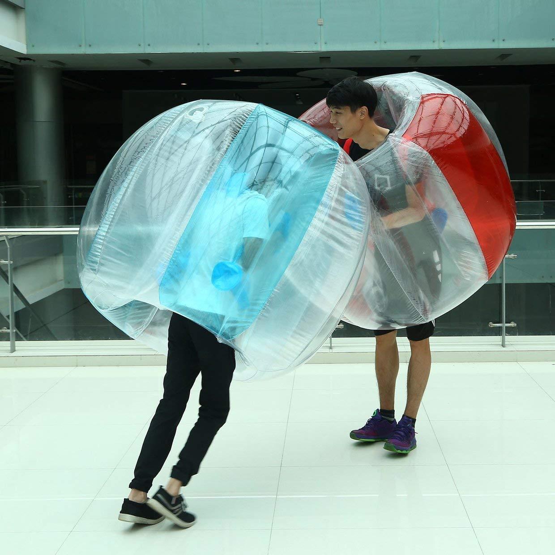 Qewsg Outdoor Aktivität PVC Aufblasbare Blase Kollision Stoßpuffer Buffer Ball Laufen