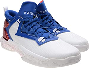 Kansas Jayhawks Team Issued White D Lillard 2 Shoes from the Athletics Program - Fanatics Authentic Certified