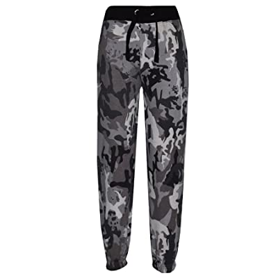 A2Z 4 Kids® Kids Boys Girls Camouflage Joggers Jogging Pants Trackie Bottom Casual Trousers