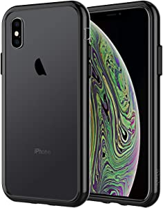 JETech Case for iPhone Xs and iPhone X, Shock-Absorption Bumper Cover (Black)