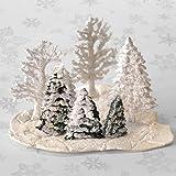 Set of 2 Christmas Tree Cake Fondant