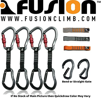 Fusion Wave Screw Gate Carabiner
