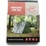 Tube Tent, Emergency Shelter Tent, Emergency Zone Brand, 1 and 3 Packs Available