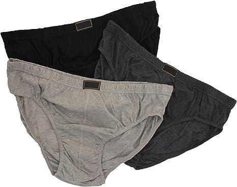 TALLA 5XL. Britwear 6x Hombre Algodón Unterhose Antideslizante (Grande König, Extra Grande, 2x l to 5x l)