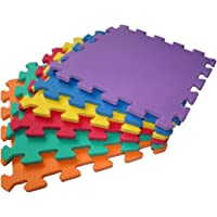 TLCmat Soft Foam Play Mat - SGS, TUV, Reach Safety Tested (6pcs, 12pcs or 18pcs Pack) (12pcs Pack)