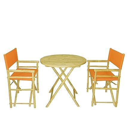 Amazon.com: Phat Tommy Bistro – Juego de plegable con mesa ...