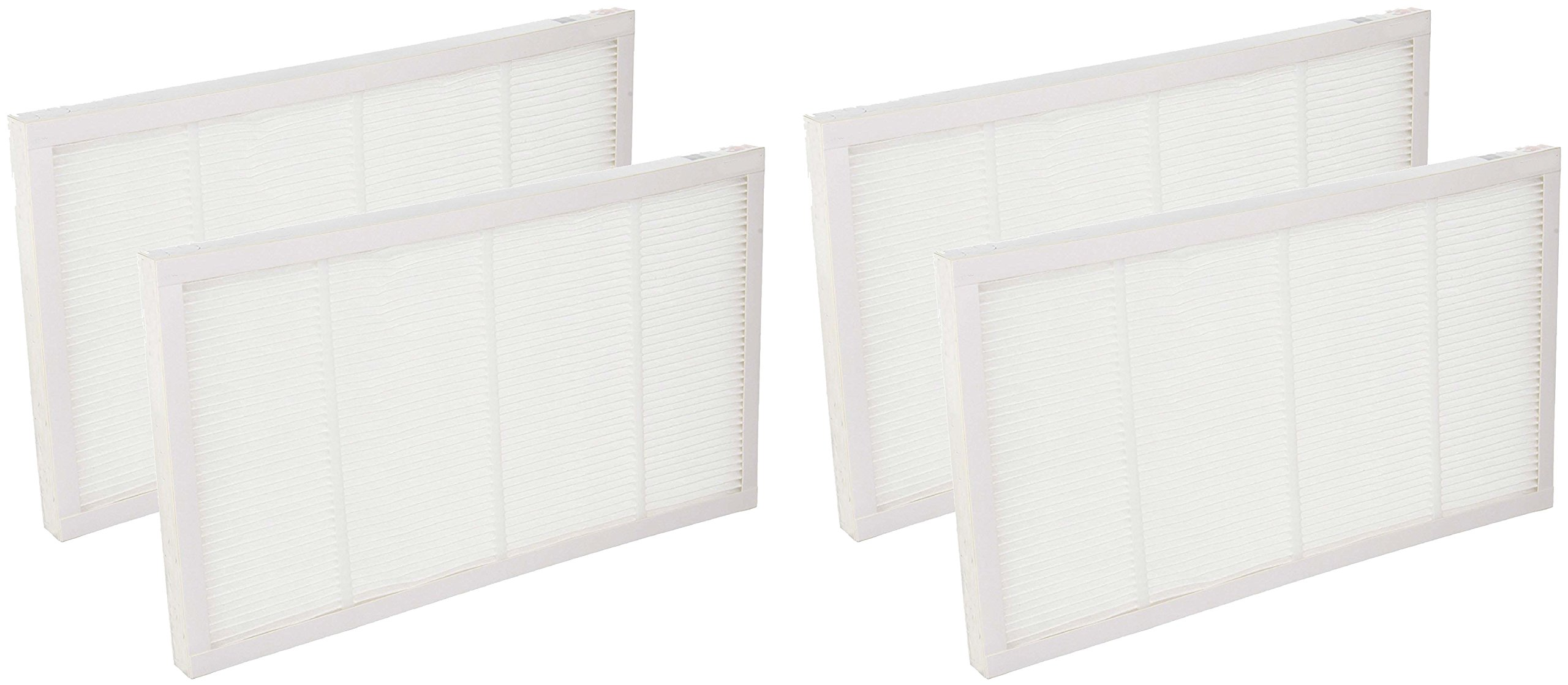 Nispira FAPF02 FAPF024 HEPA Filter Compatible with 3M Filtrete Ultra Quiet Air Cleaning Purifiers Model FAP02 FAP01-RMS and FAP02-RMS - 4 Packs