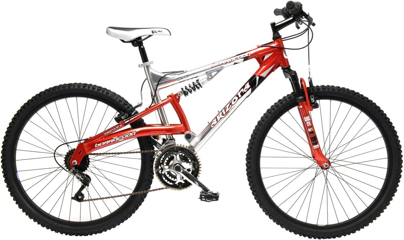 Barracuda Arizona Alloy - Bicicleta para hombre, doble suspensión ...