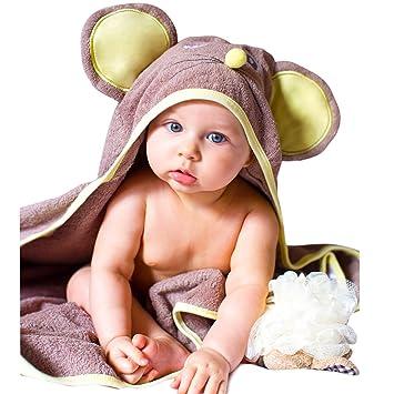 7042e995f963 Amazon.com   Luxury SOFT Hooded Towel for Kids