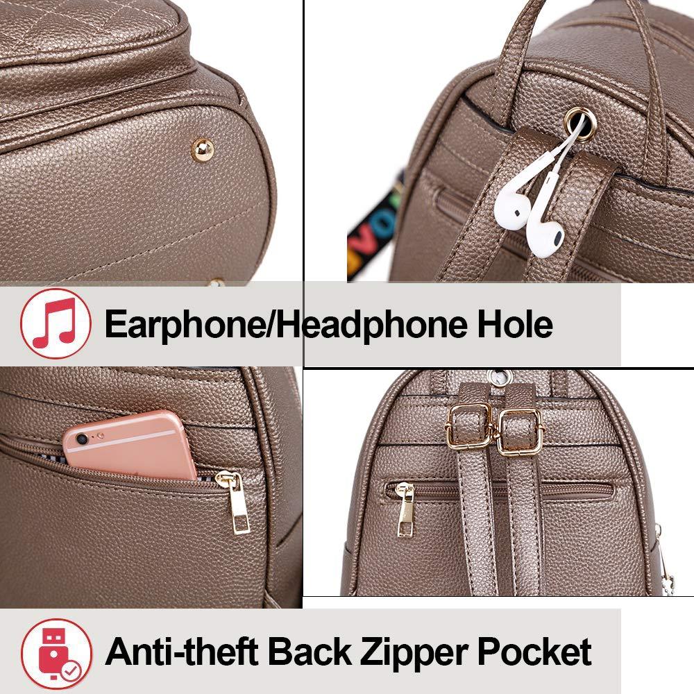 Black Girls Rabbit Ear Cute Mini Leather Backpack XB Small Backpack Purse for Women Fashion Shoulder Bag XB Small Backpack Purse for Women Fashion Shoulder Bag