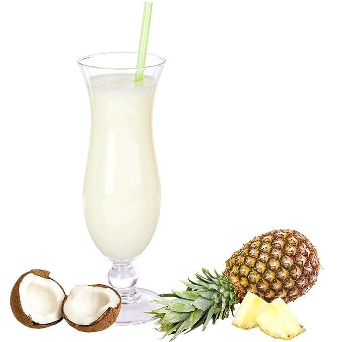 Pina Colada Gin con sabor a batido en polvo (1 kg): Amazon.es: Alimentación y bebidas