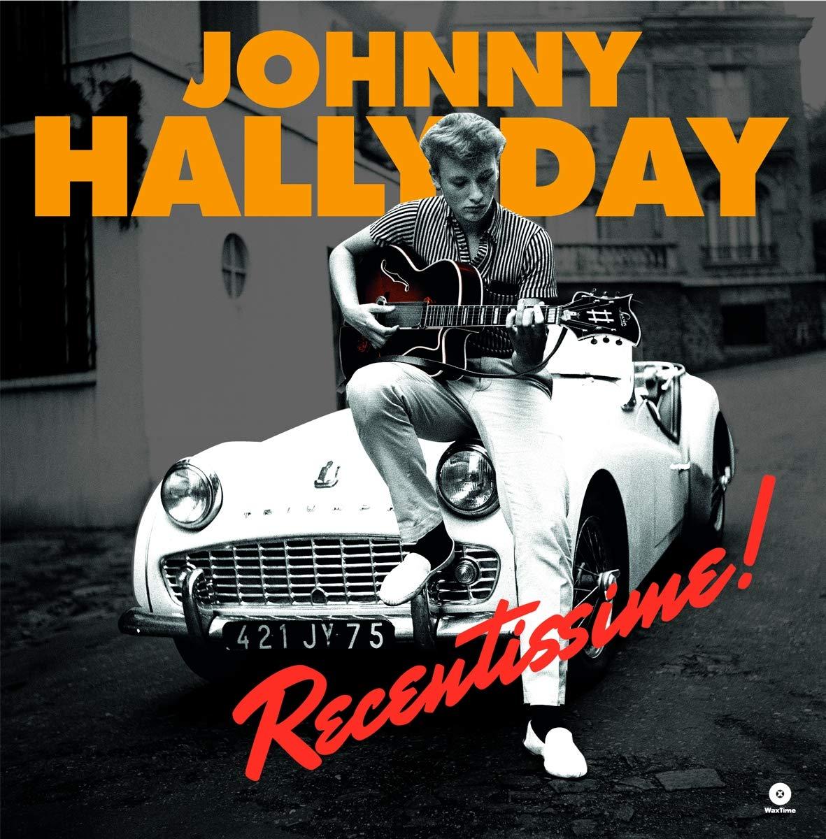 Vinilo : Johnny Hallyday - Recentissime (180 Gram Vinyl, Limited Edition, Virgin Vinyl, Spain - Import)
