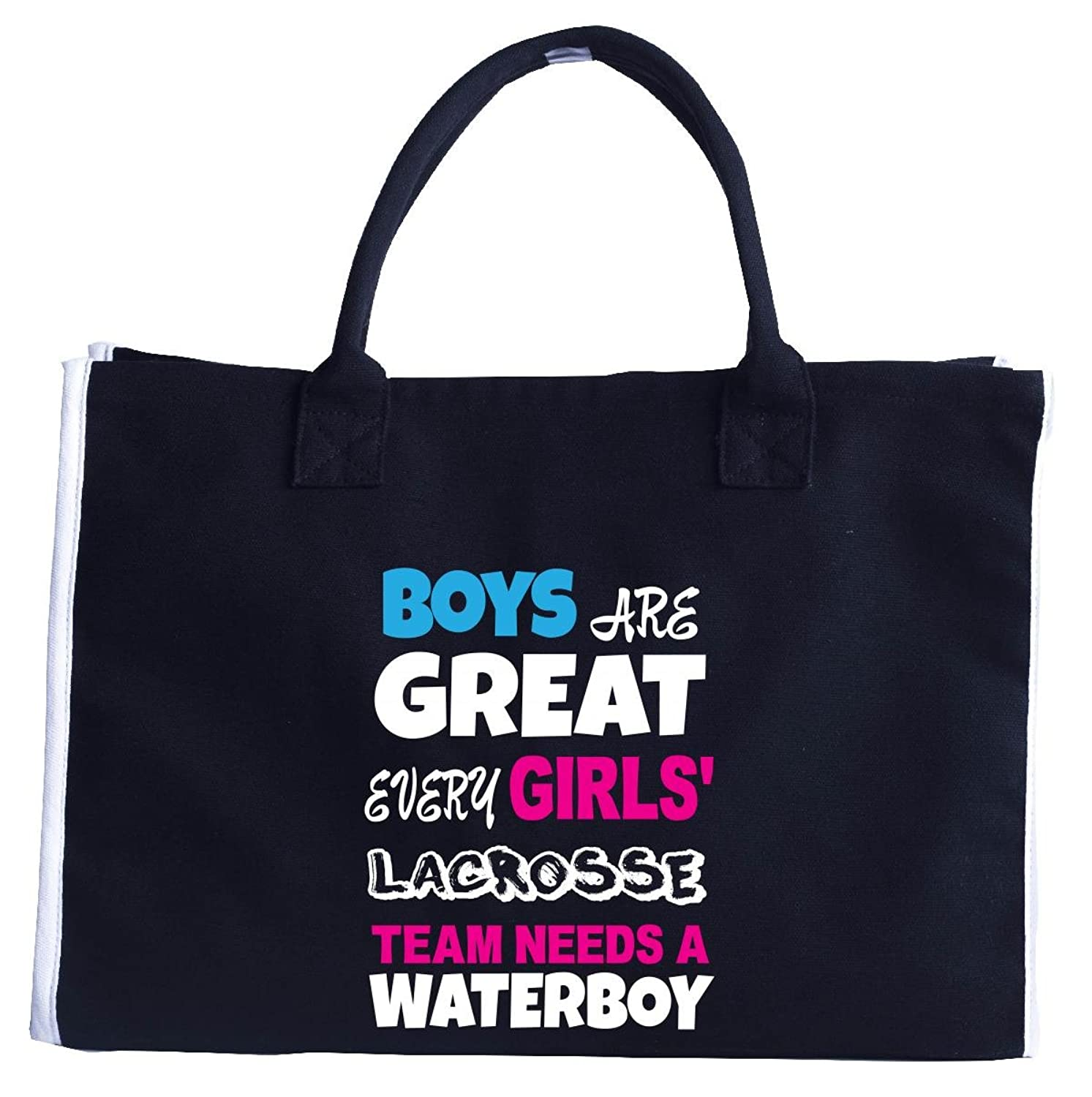 Every Girls Lacrosse Team Needs A Waterboy Funny Lacrosse - Tote Bag