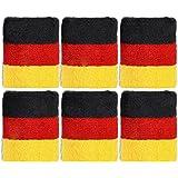 12 x Schweißband Pulswärmer Deutschland Germany Fußball Fanartikel WM EM