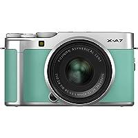 Fujifilm X-A7 Mirrorless Digital Fujifilm X-A7 24.2 MP Mirrorless Camera with XC 15-45 mm Lens, Mint Green (X-A7MG)