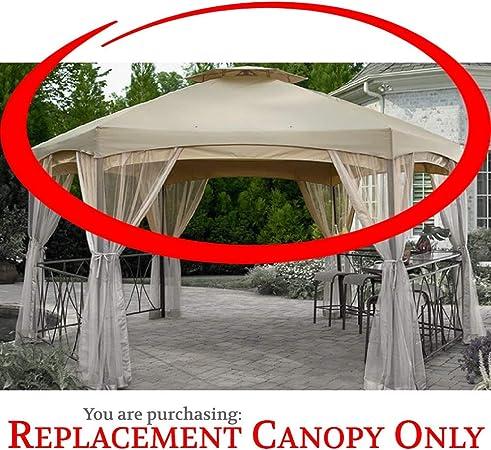Amazon Com Garden Oasis Replacement Canopy For Clayton Hexagon Gazebo Ss I 138 2ngz Garden Outdoor