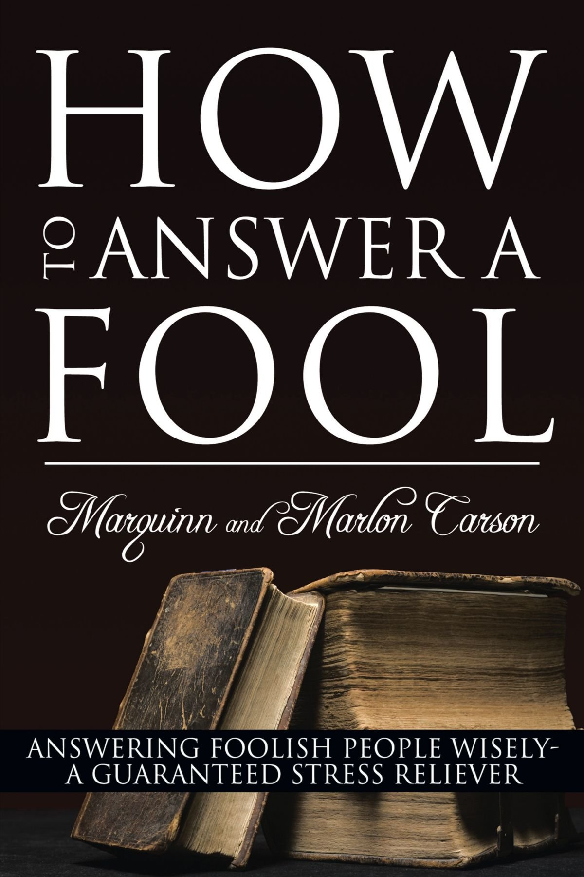 Download How To Answer A Fool: Answering Foolish People Wisely- A Guaranteed Stress Reliever PDF