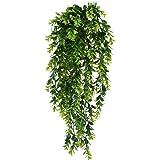 Edera variegata lusso cespuglio artificiale cadente da for Piante rampicanti finte