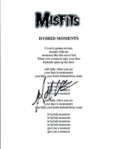 Doyle Wolfgang von Frankenstein Signed HYBRID MOMENTS
