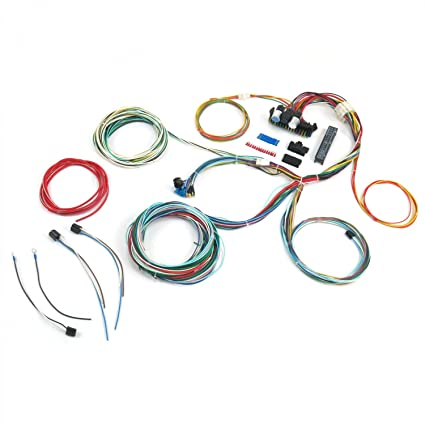 1946 ford coupe wiring harness 1 wiring diagram sourceamazon com keep it clean 689427 wiring harness (ultimate 15 fuse