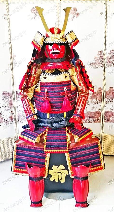 Traje De Armadura Japonés Usable Rüstung Samurai Anudado ...