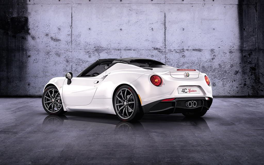 Prints for Me 2014 Alfa Romeo 4C Spider Prototype 3 11X17 Photo Poster