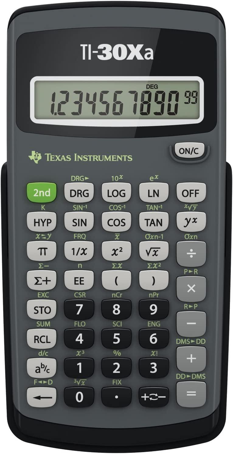 2x Texas Instruments TI-College Schul Büro Taschenrechner Rechner calculator