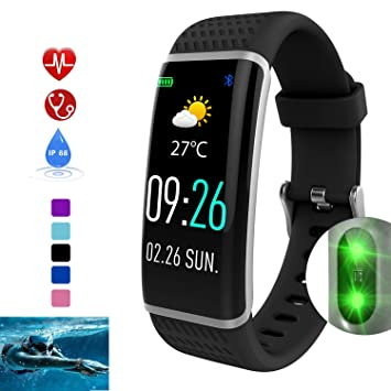 DUWIN Smartwatch con Pulsómetro,Impermeable IP68 Reloj Inteligente ...