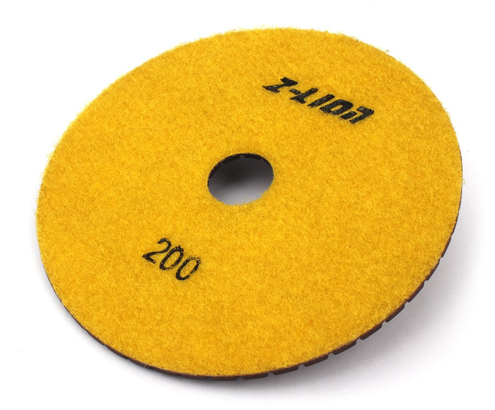 5 Copper Diamond Polishing Pads Abrasive Sanding Tool Grits 200 for Granite Marble Engineered Stone