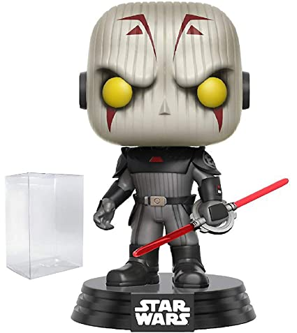 info for 4a749 75439 Funko Pop! Star Wars Rebels: The Inquisitor #166 (Walmart Exclusive) Vinyl  Figure (Bundled with Pop BOX PROTECTOR CASE)