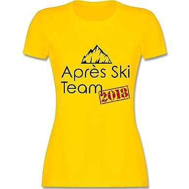 Après Ski - Après Ski Team 2018 - S - Gelb - L191 - Damen T
